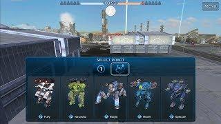 War Robots Custom Game Hangar X