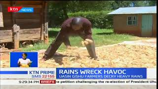 Heavy rains cause havoc in North Rift hampering harvest