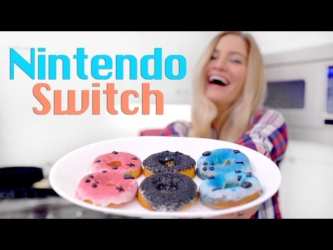 Nintendo Switch Donuts!