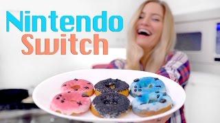Nintendo Switch Donuts!