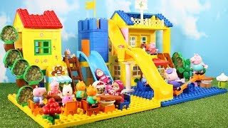 Lego Duplo Peppa Pig House Construction Set - Peppa Pig Legos Creations Toys For Kids #9