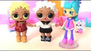 Танцевальный батл #Куклы Лол Сюрприз и Шопкинс! Мультик lol Surprise & Barbie