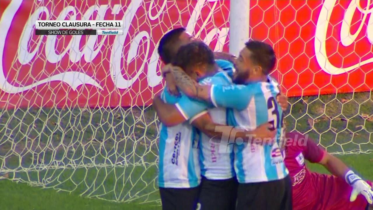 Show de goles de la fecha 11 del Clausura 2019