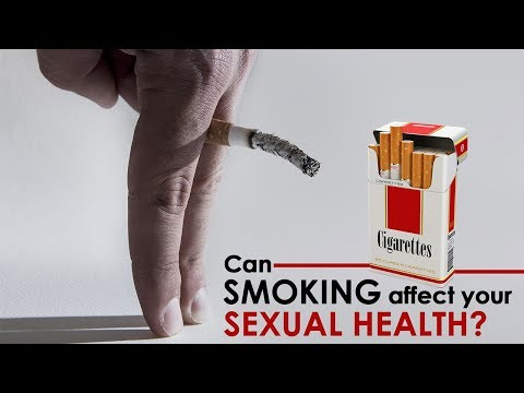Smoking Tobacco Affects Your Sexual Health | Healthfolks.com