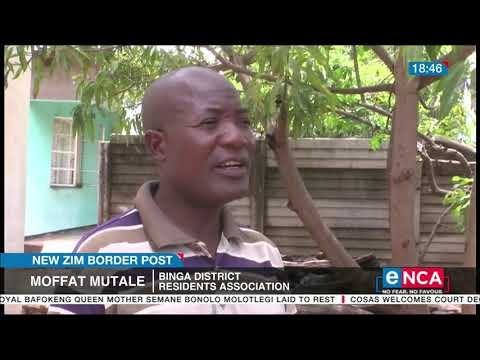 WATCH: New Zimbabwe border post