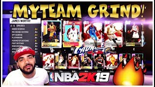 NBA 2K19 MYTEAM GRIND! 230 TOKENS AWAY FROM A GALAXY OPAL! Triple Threat & UNLIMITED GAMEPLAY!