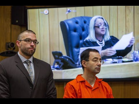 Nassar sentenced to 40 to 125 years on Eaton County charges