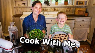 Simple Healthy Family Recipes // Cook With Me
