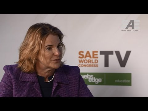 SAE World Congress TV: Interview with Gloria D'Anna