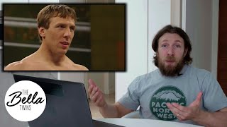 Daniel Bryan Watches His First Televised Match In WWE - Bella Playback