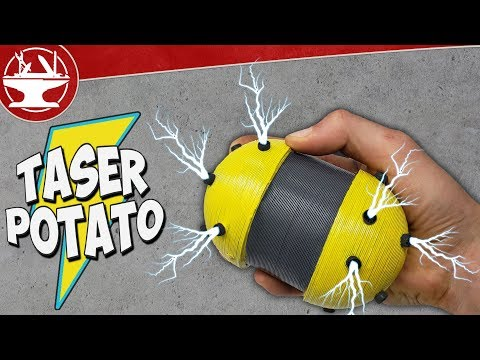 40,000V TASER POTATO (World's Worst Party Game)