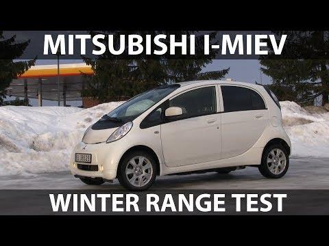 Mitsubishi i-MiEV range test