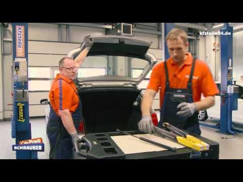Heckklappendämpfer Gasfeder wechseln - VW Golf 4 [TUTORIAL]
