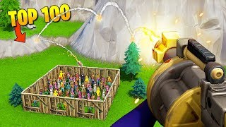 TOP 100 EPIC MOMENTS IN FORTNITE
