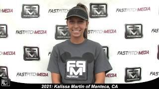 2021 Kalissa Martin Outfield Softball Skills Video - Firecrackers