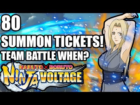 🤯 These 80 *SUMMON TICKETS* Were Insane! 😲 | Naruto X Boruto Ninja Voltage