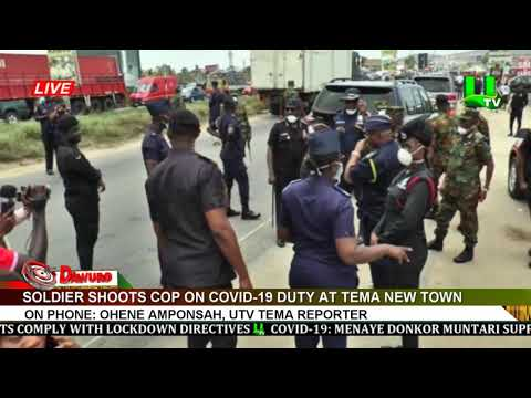 Soldier shoots COP on COVID-19 duty at Tema New Town
