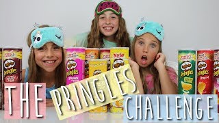 Rosie McClelland | Crazy Pringles Challenge with friends