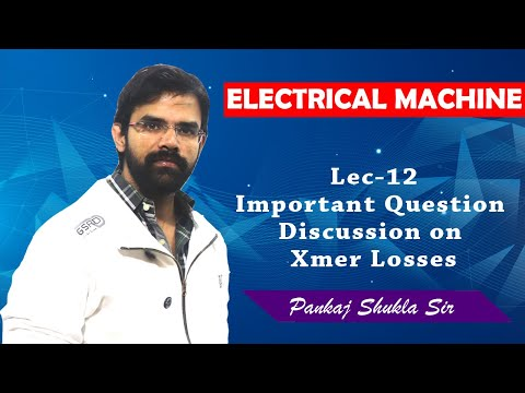 , title : 'Lec 12 Important Question Discussion on Transformer Losses'