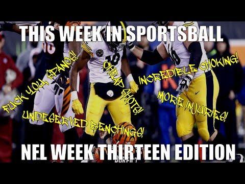 This Week in Sportsball: NFL Week Thirteen Edition
