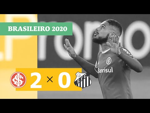 Internacional 2-0 Santos (Campeonato Brasileiro 2020) (Highlights)