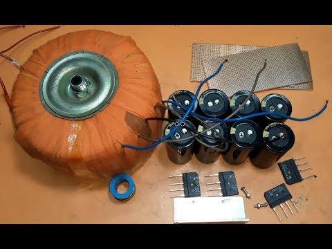 High power amplifier transformer making, power amplifier making, electronics