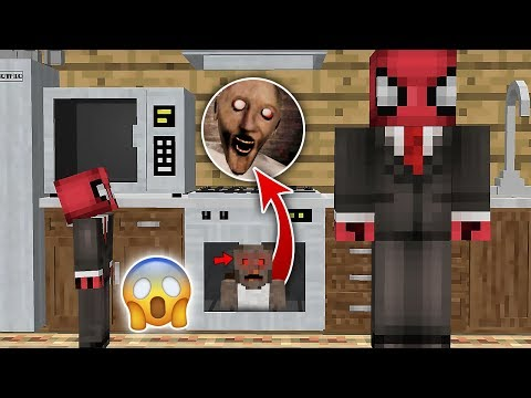 KÖTÜ BÜYÜKANNE FIRINDA SAKLANIYOR - Minecraft