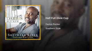 Half Full Dixie Cup