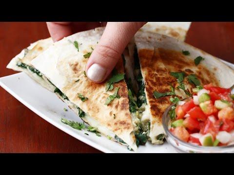 Video Quesadillas 4 Ways
