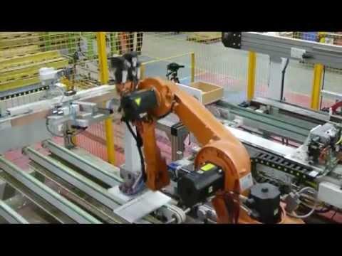 Автоматична линия за производство на чекмеджета