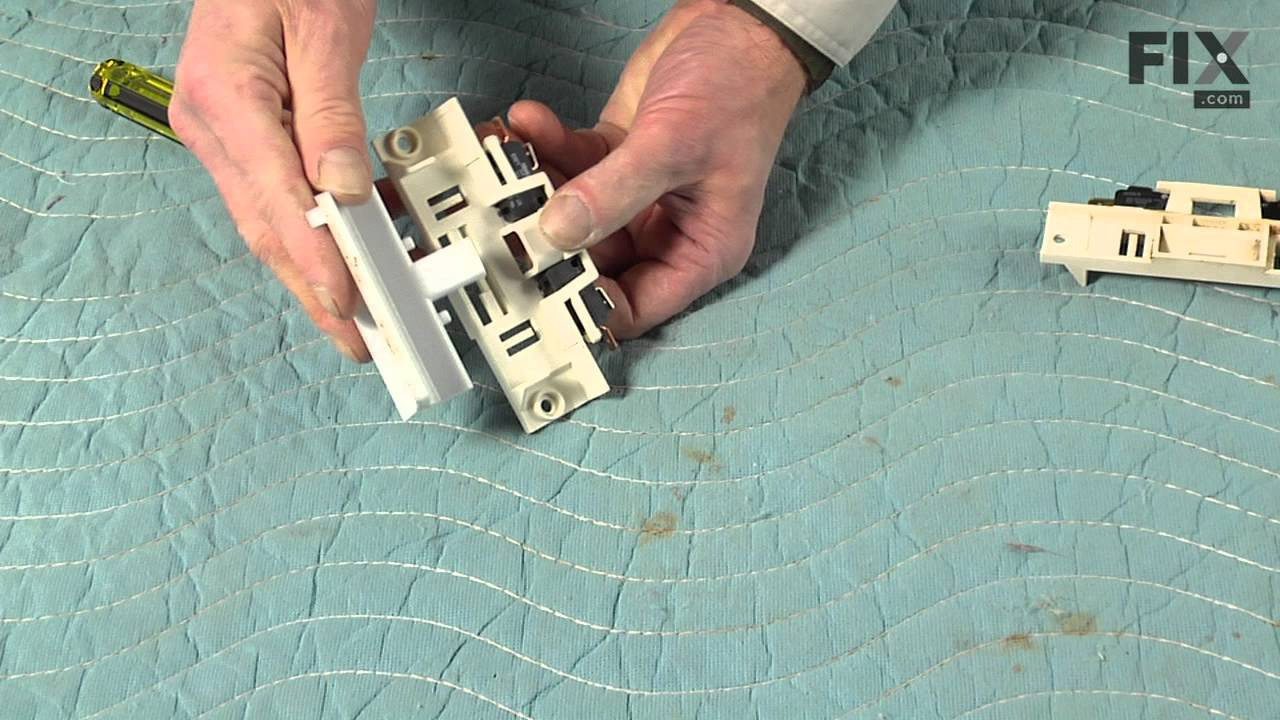 Replacing your Maytag Dishwasher Door Switches and Holder Assembly
