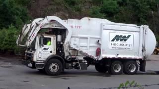 Republic Services Ex Mass Waste 1273 ~ Mack MRU McNeilus Atlantic Front Loader