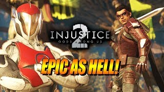 EPIC AS HELL - WEEK OF! Robin Online Ranked: INJUSTICE 2