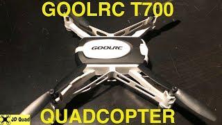 GoolRC T700 FPV Mini Quadcopter Indoor Flight Test Video