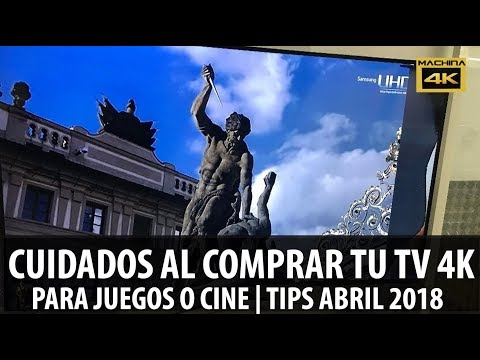 CUIDADO AL COMPRAR TV 4K PARA JUEGOS Y PELICULAS | TIPS OFERTAS ABRIL 2018