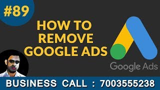 How To Remove your Google Ads Campaing in hindi Tutorial 89