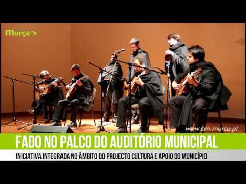 Grupo de Fados Literatus da Faculdade de Letras da Universidade do Porto no Auditório Municipal