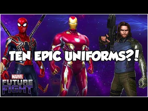 BEST INFINITY WAR *UNIFORMS* 👉 PURCHASE GUIDE - Marvel Future Fight