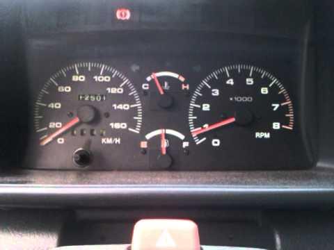Im Tank des Wagens waren 40 l des Benzins auf die Fahrt aufs Land