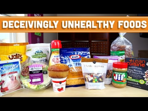 "Video Top 10 Unhealthy ""Health"" Foods! Mind Over Munch"
