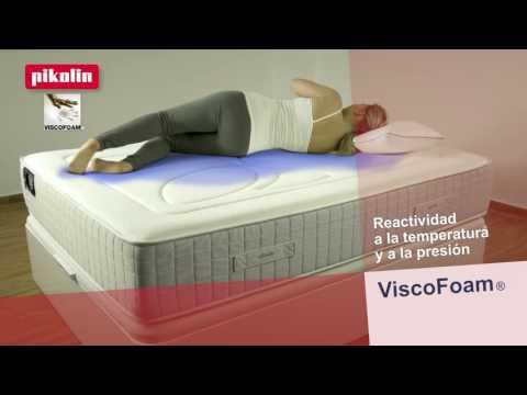 Colchones de espuma ViscoFoam de Pikolin