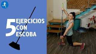 Entrenamiento EN CASA con un PALO de escoba | Vitónica