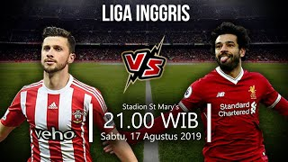 Video Live Streaming TVRI Liga Inggris Pekan Kedua Southampton Vs Liverpool Sabtu (18/8)