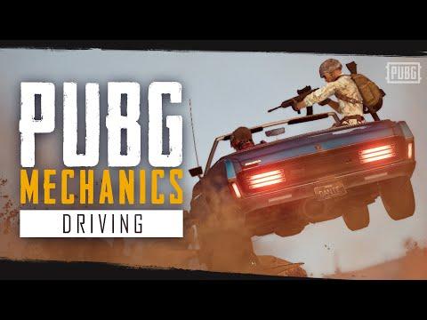 PUBG Mechanics - Driving