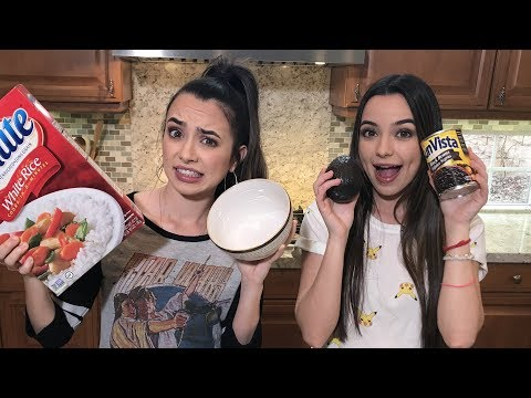 DIY Chipotle Bowl – LIVE – Merrell Twins