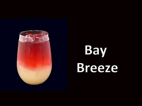 Bay Breeze  Cocktail Drink Recipe HD