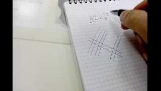 Смотреть онлайн Интересный способ умножения в Японии