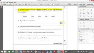 Annotating a PDF document for free