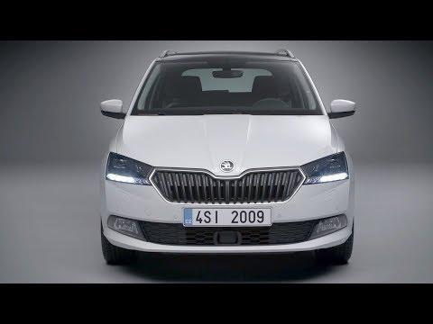 2018 Skoda Fabia Hatch And Combi Shows Strange Headlights In New Videos Autoevolution