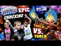 Torch vs. Torch Battle Mode! - Epic Unboxing pt. 16 [Skylanders Trap Team]